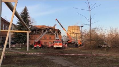 В Тамбове два человека пострадали при обрушении здания на ТЭЦ