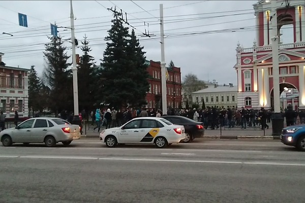 В Тамбове прошла очередная акция в поддержку Алексея Навального