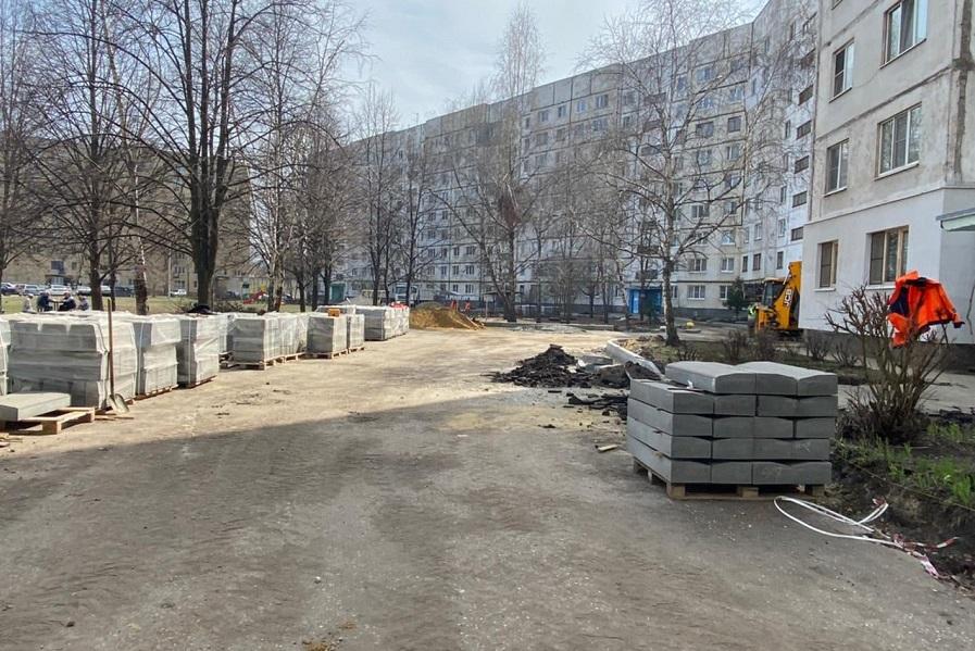 В Тамбовской области благоустраивают 22 двора и 10 общественных пространств
