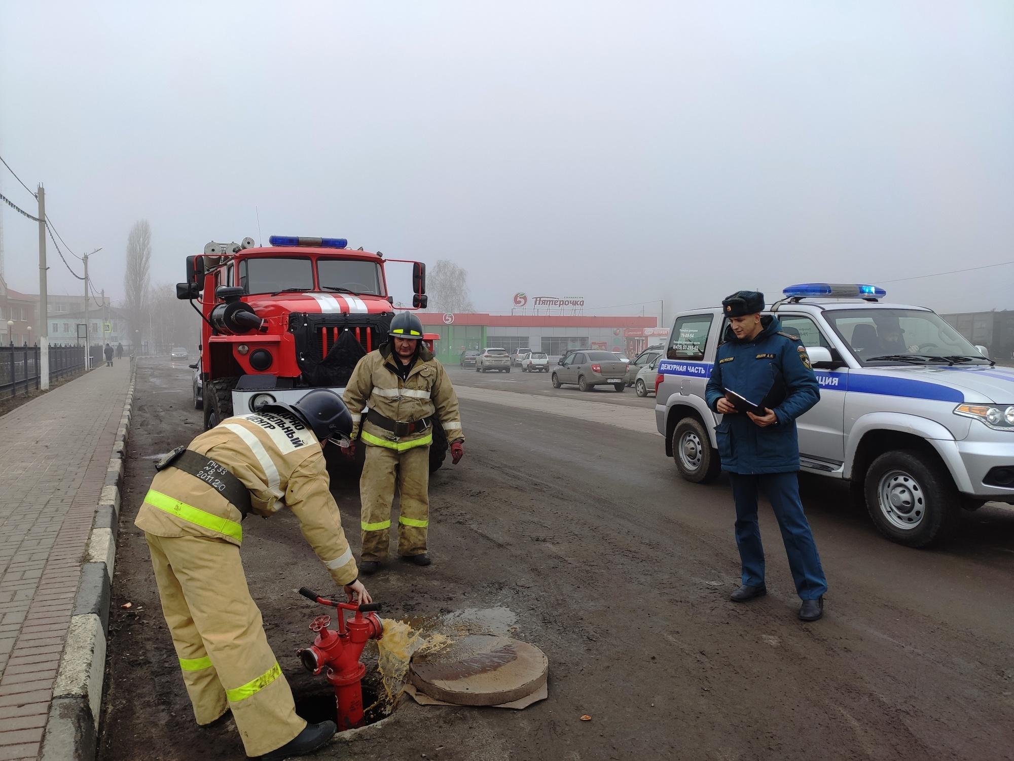 В Тамбовской области началась весенняя проверка пожарного водоснабжения