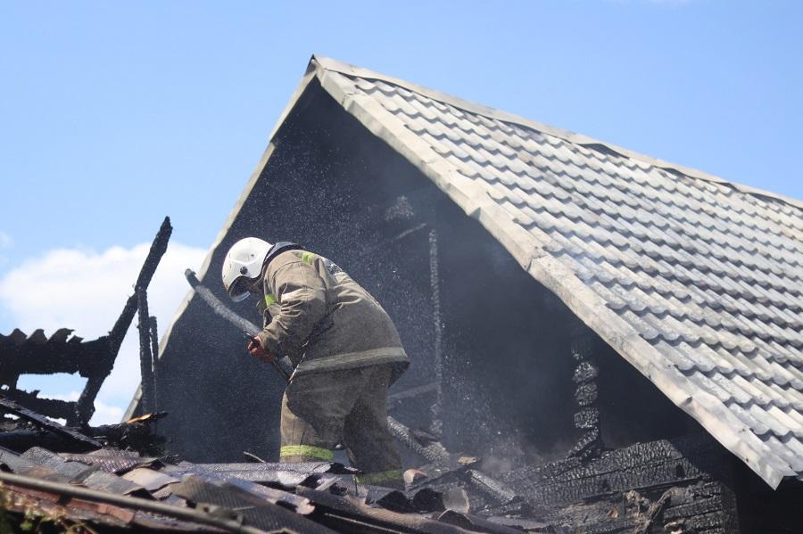 В Тамбовской области за неделю в пожарах погибли два человека