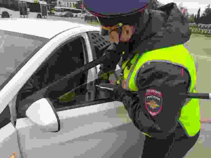В Тамбовской области за сутки более сотни водителей оштрафованы за тонированные стёкла