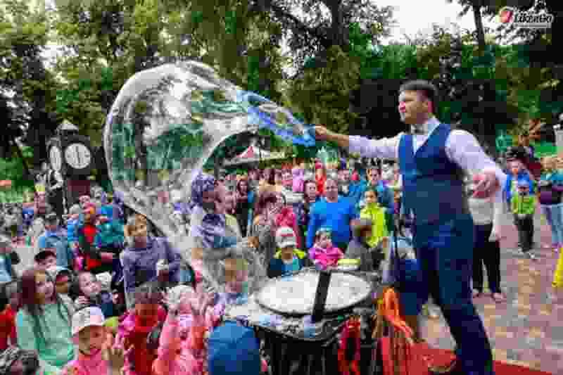 В Тамбовском горсаду пройдёт шоу мыльных пузырей