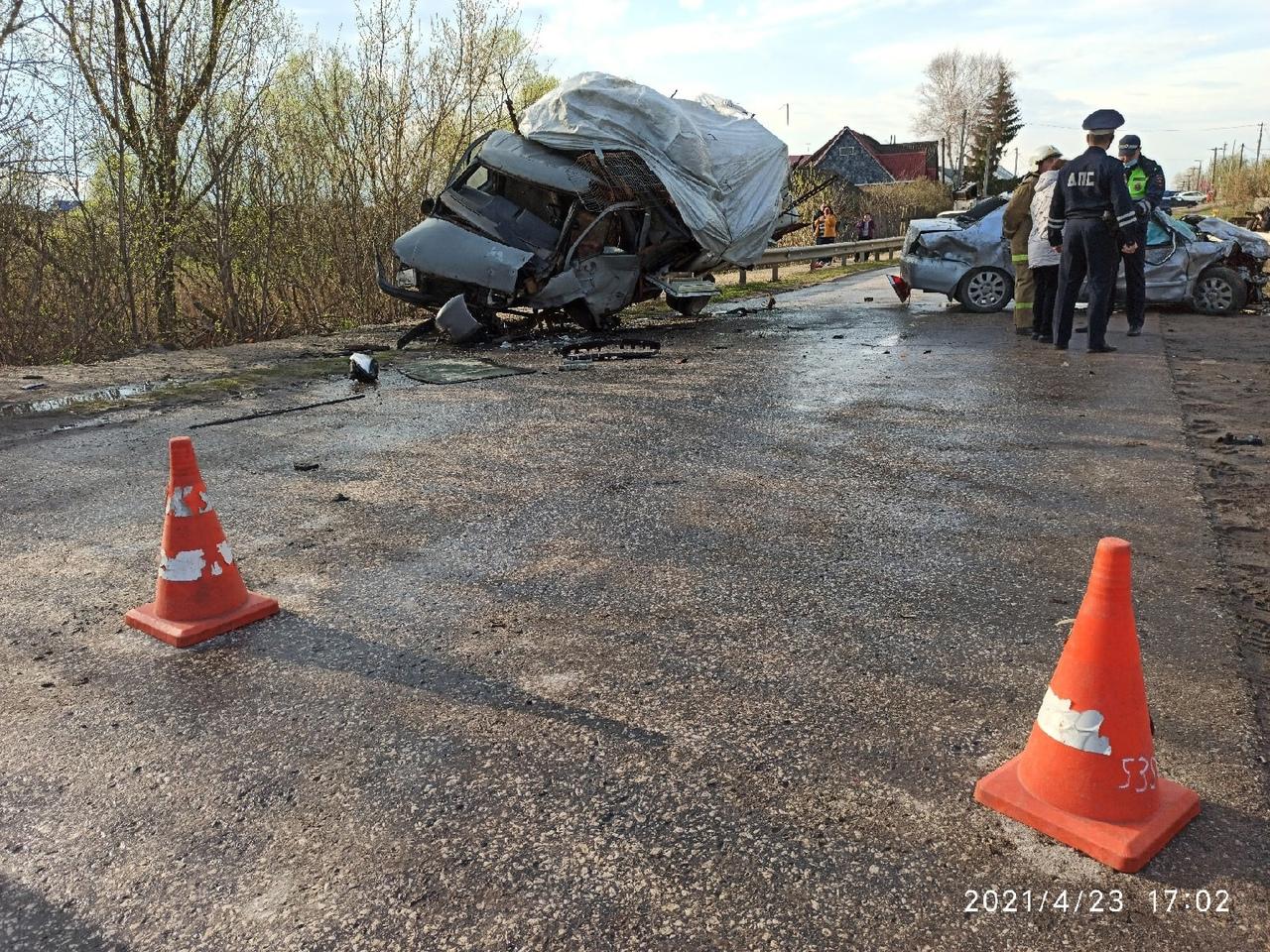 В Тамбовском районе в ДТП пострадали шесть человек