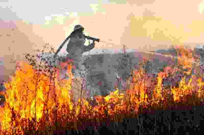 За сутки в Тамбовской области случилось более сотни пожаров
