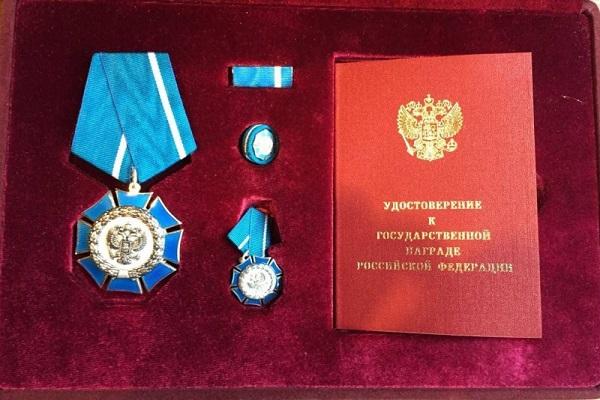 Член Общественной палаты Тамбовской области Михаил Белов награждён Орденом Почёта