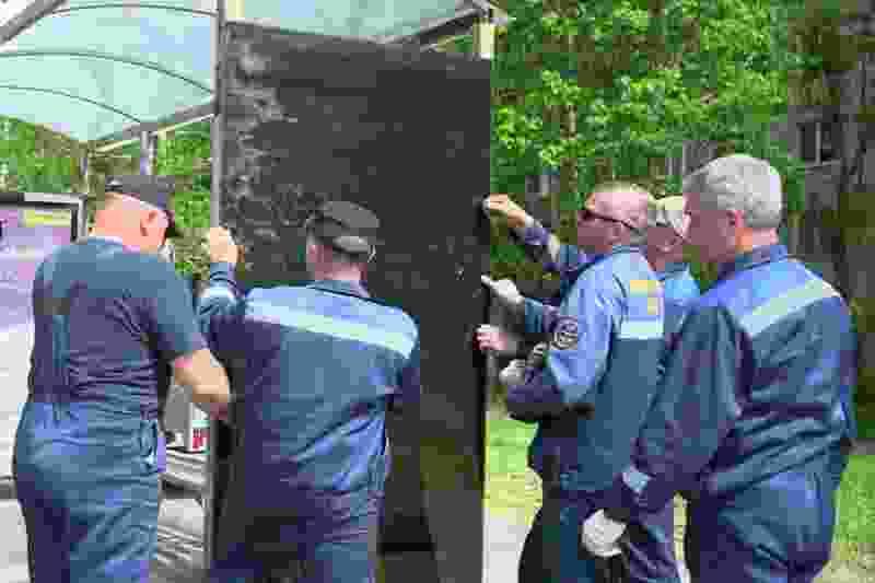 Из-за вандалов остановочные павильоны в Тамбове могут оборудовать камерами видеонаблюдения