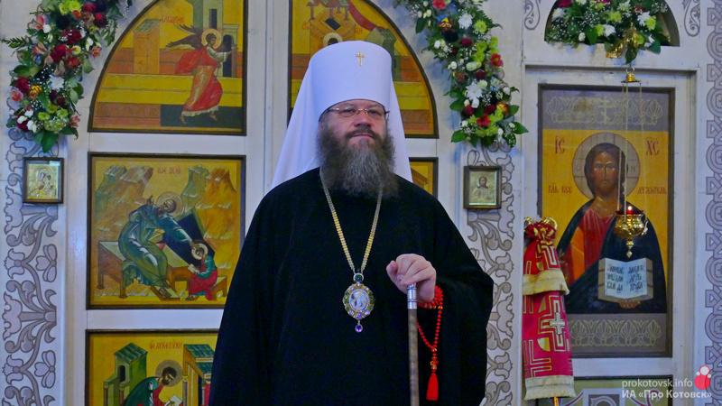 Митрополит Тамбовский и Рассказовский Феодосий совершил Божественную литургию в Котовске