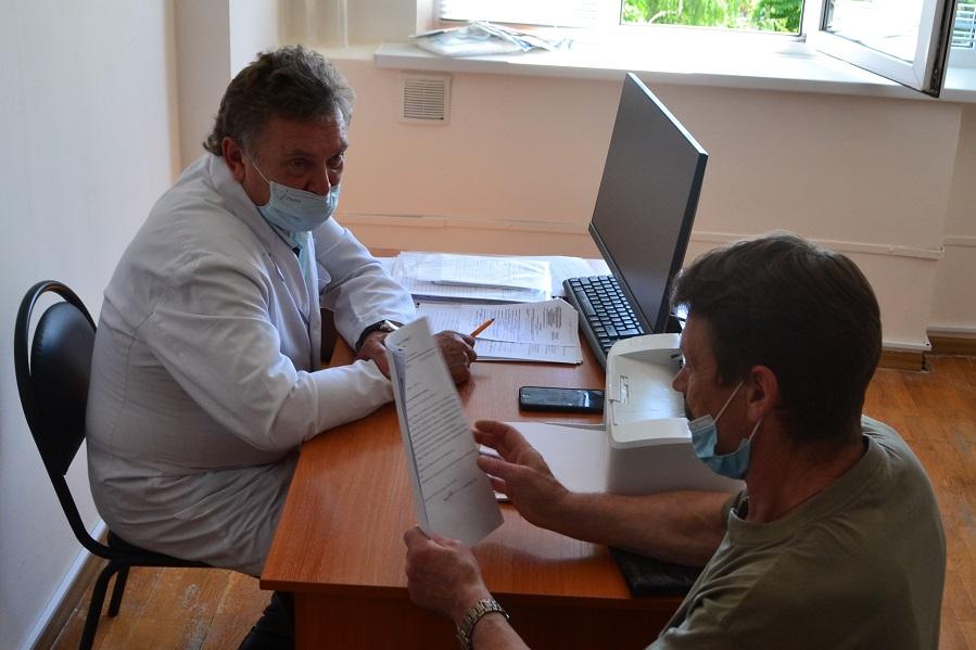 Московские врачи провели приём в Тамбовской областной клинической больнице
