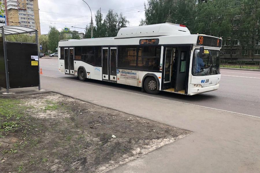 На севере Тамбова пенсионерка получила травмы в автобусе