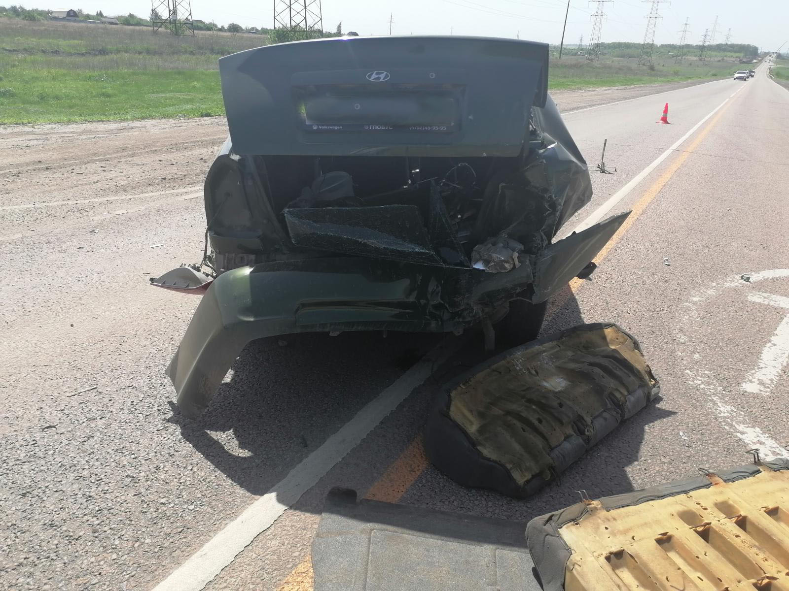 Под Тамбовом столкнулись три автомобиля: есть пострадавший
