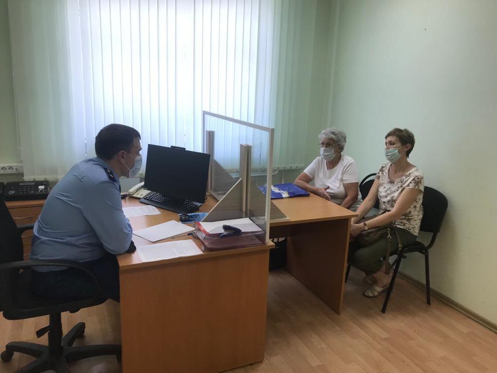 Прокурор Тамбовской области провел личный прием граждан