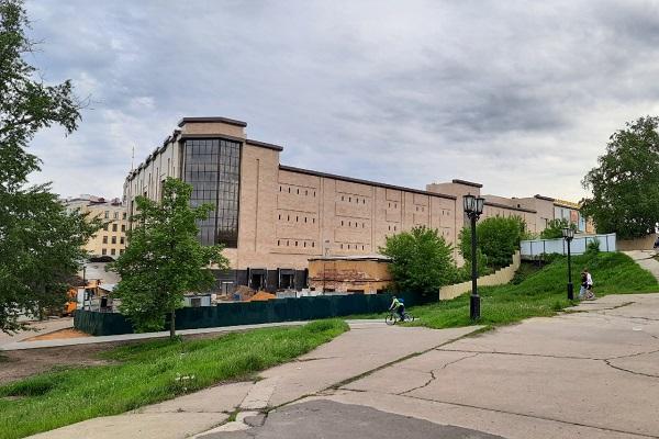 Спуск от парка культуры к Набережной планируют реконструировать