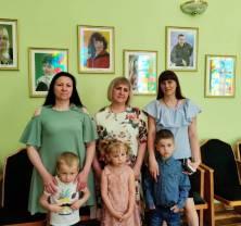 Судебные приставы со своими детьми посетили «Тамбовский государственный театр кукол»