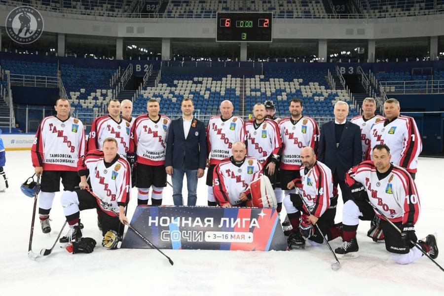 Тамбовчане вошли в четвёрку лучших команд фестиваля Ночной хоккейной лиги