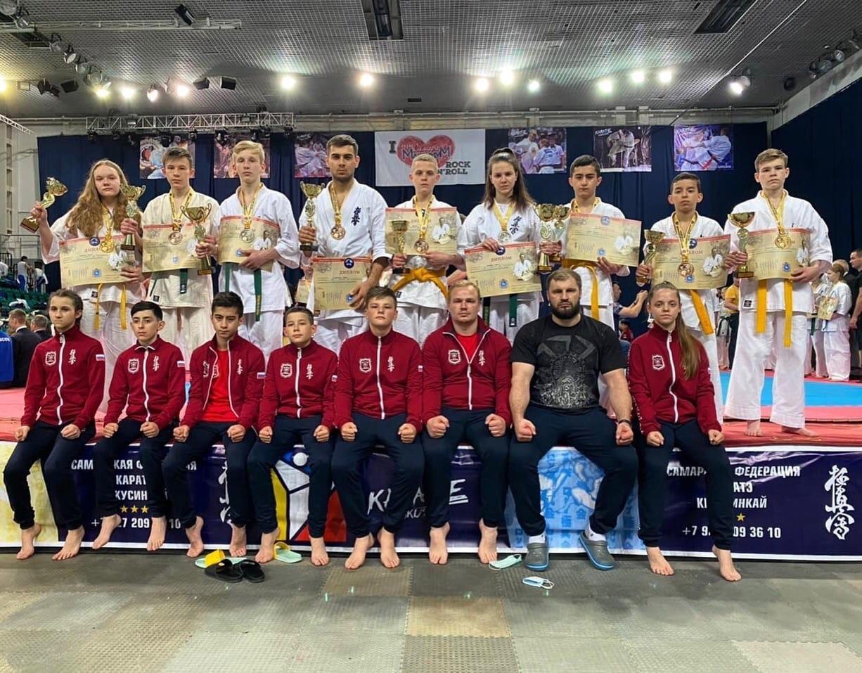 Тамбовчане завоевали рекордное число медалей на турнире по киокусинкай