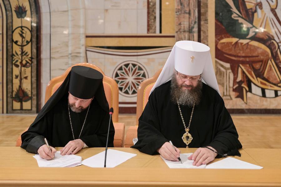 Тамбовская духовная семинария подписала соглашение с Минской духовной академией
