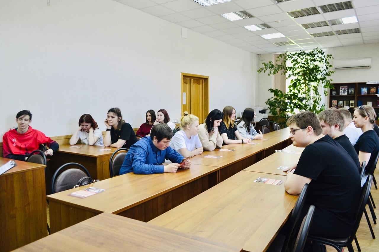 Тамбовский филиал РАНХиГС провел выездной день открытых дверей в Котовском индустриальном техникуме