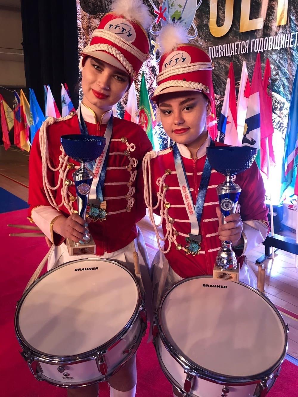 Тамбовский мажорет-шоу барабанщиц стал победителем всемирной танцевальной олимпиады