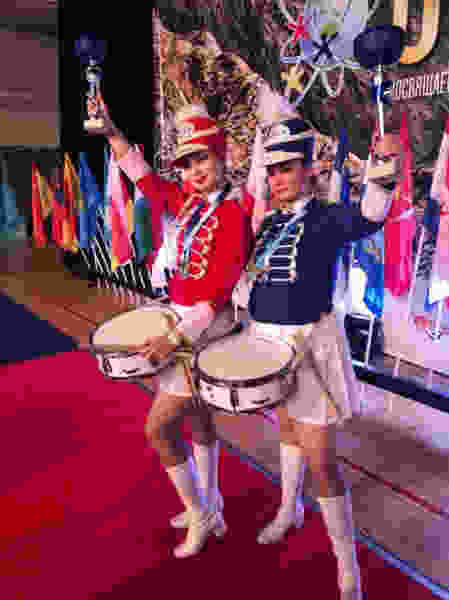 Тамбовское мажорет-шоу барабанщиц «Славяне» победили на Всемирной Танцевальной олимпиаде
