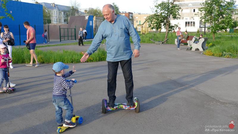 В Котовске обсуждают проект режима работы городского скейт-парка