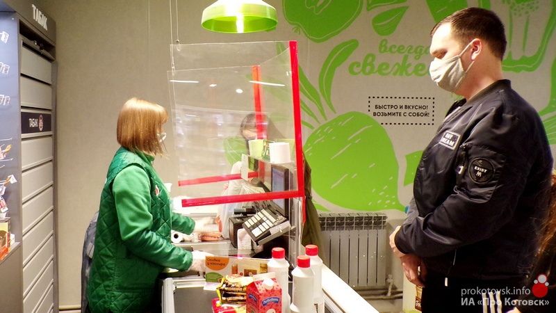 В Котовске продолжаются проверки соблюдения масочного режима
