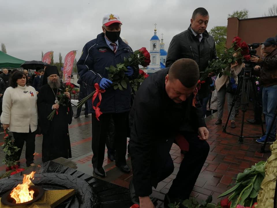 В Мичуринске открыли уникальный мемориал советским солдатам, умершим в госпиталях