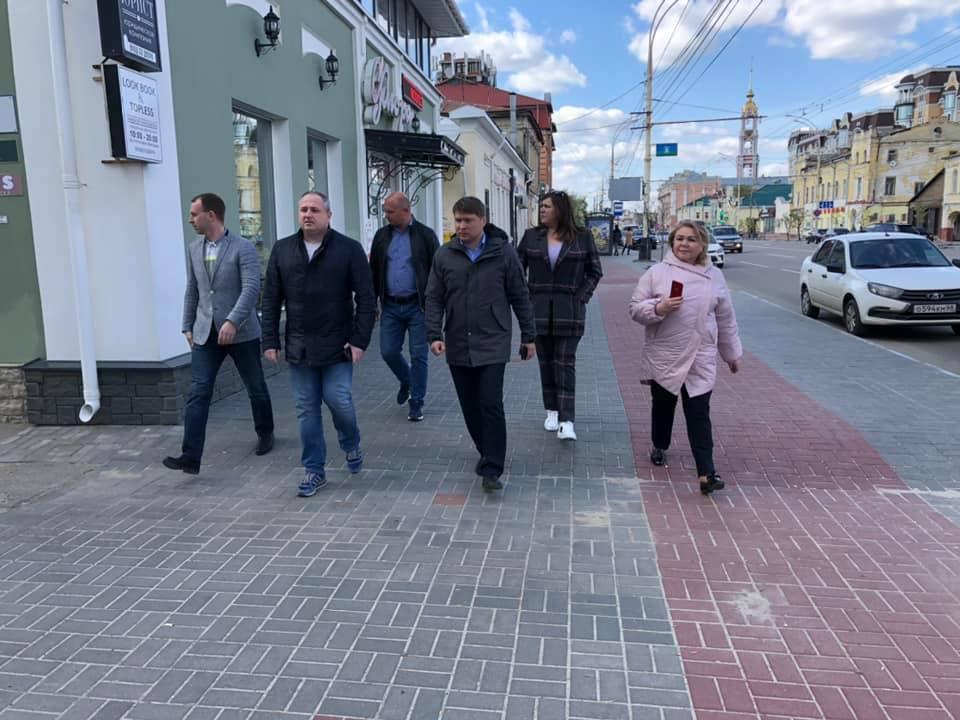В преддверии Дня Победы проверили состояние некоторых улиц Тамбова