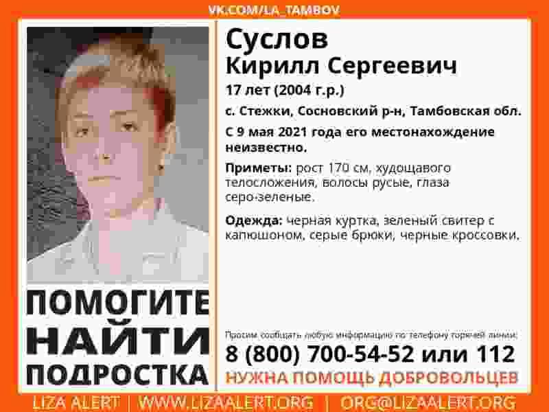 В Сосновском районе третьи сутки ищут пропавшего подростка