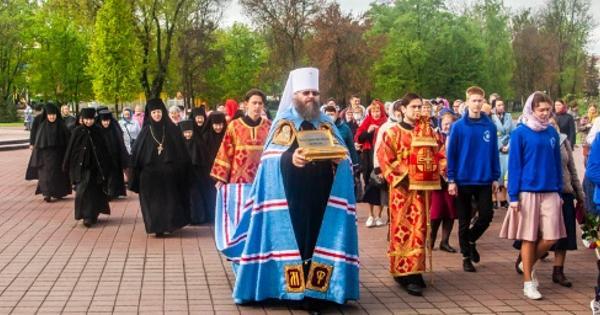 ВТамбов доставили мощи Матроны Московской