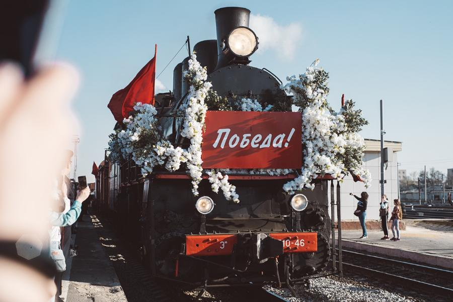 """В Тамбов с уникальной выставкой приедет """"Поезд Победы"""""""