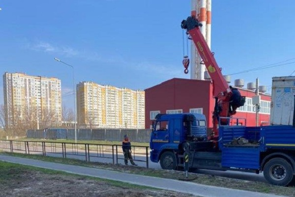 В Тамбове ищут собственника киоска в районе улицы Новикова-Прибоя