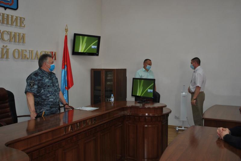 В Тамбове начальника следственного управления УМВД поздравили с назначением