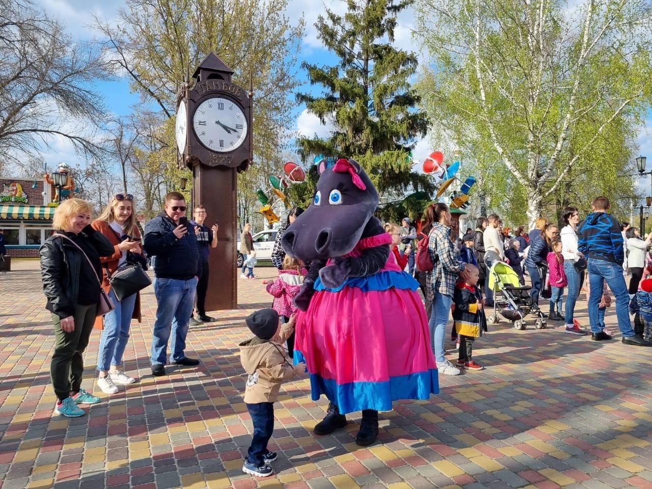 В Тамбове открыли Парк культуры и отдыха