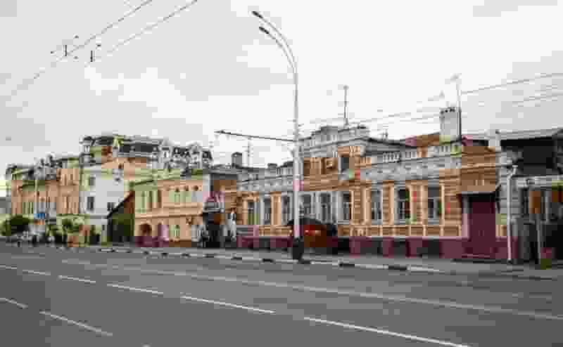 В Тамбове отреставрируют фасады зданий на Советской