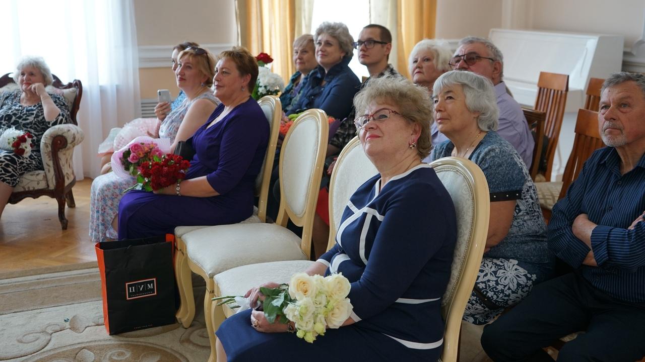 """В Тамбове прошло торжественное чествование """"золотых"""" юбиляров семейной жизни"""