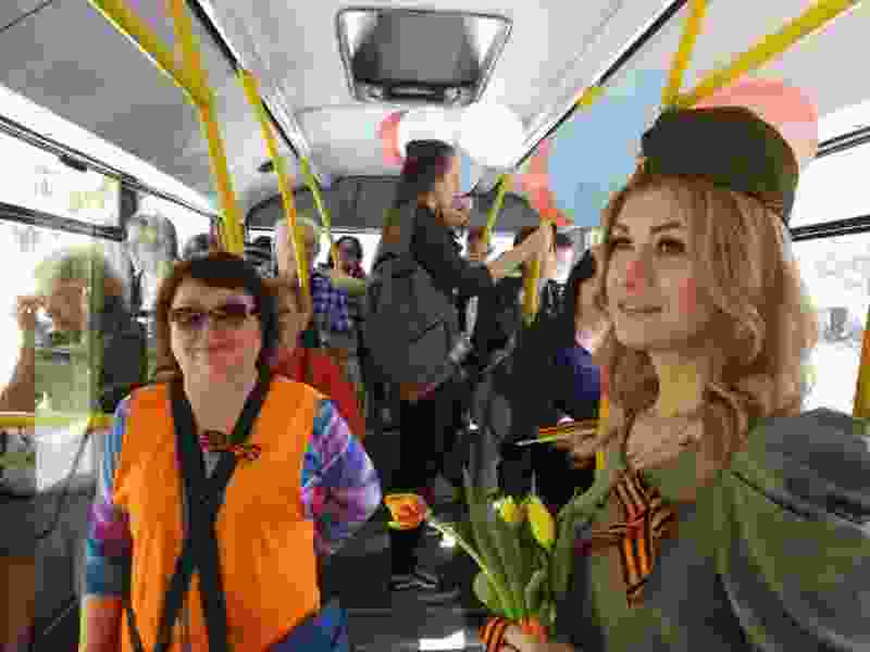 В Тамбове стартовала акция «Автобус Победы»