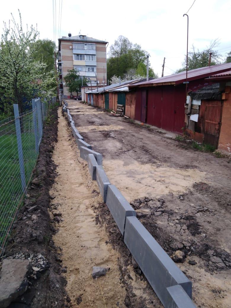 В Тамбове увеличилось количество дворов, где ведётся благоустройство