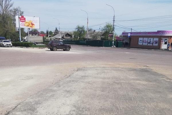 В Тамбове восстановили дорожное покрытие на Гастелло