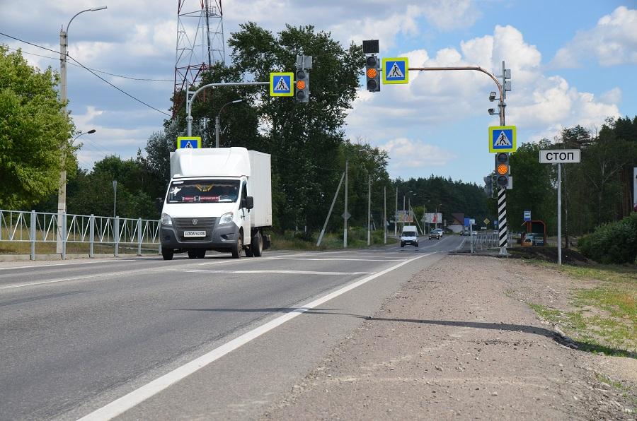 В Тамбовской области появятся три новых пешеходных светофора