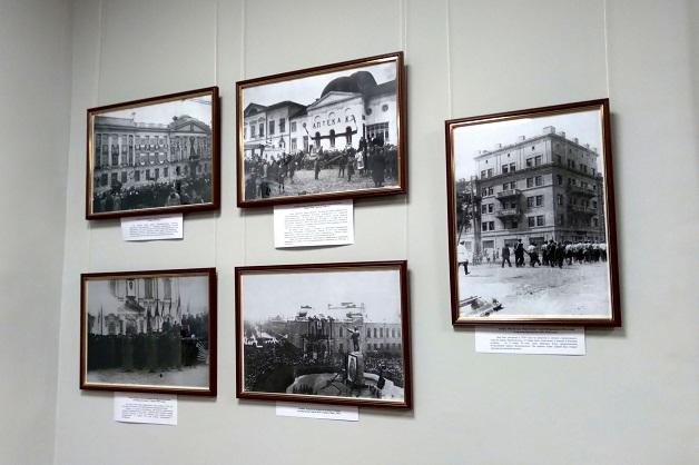В ТГУ открылась выставка фотографий старого Тамбова