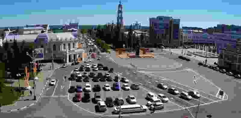 В центре Тамбова изменят схему движения транспорта
