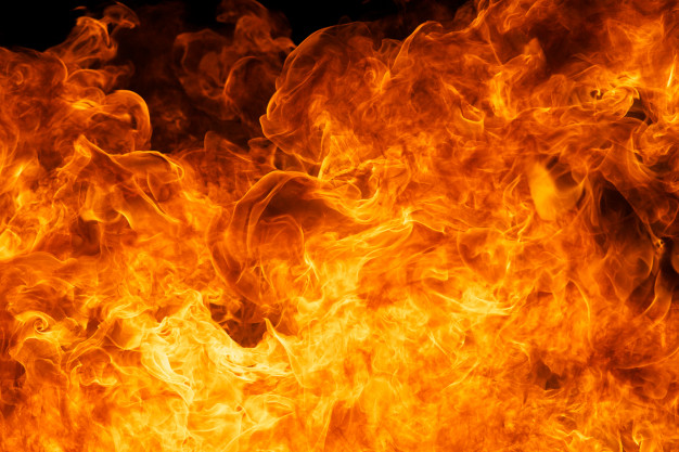 За неделю в Тамбовской области случилось 64 пожара