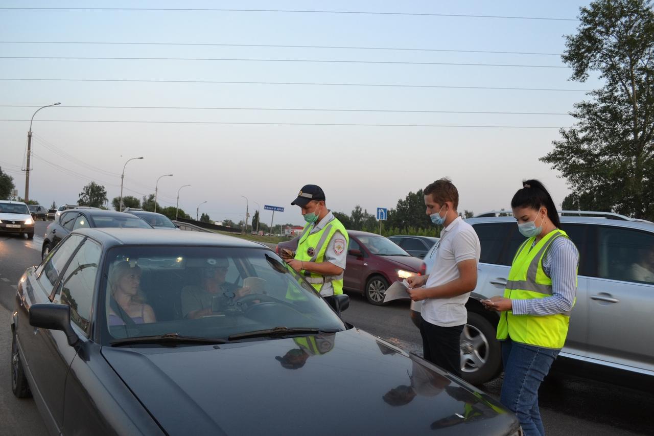Более 100 пьяных водителей поймали во время рейдов в Тамбовской области