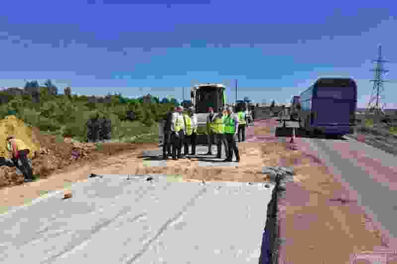 Федеральная комиссия проверяет качество ремонта дорог в регионе