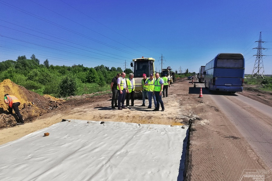 Федеральные эксперты проверяют качество ремонта дорог в Тамбовской области
