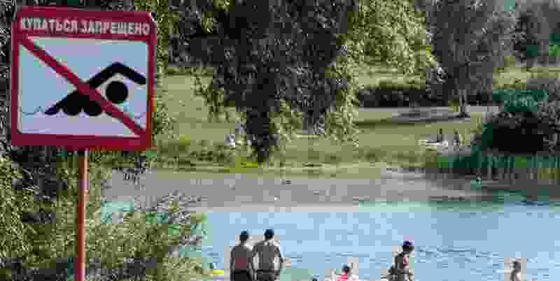 Купальный сезон в Тамбове стартовал, но купаться можно не везде