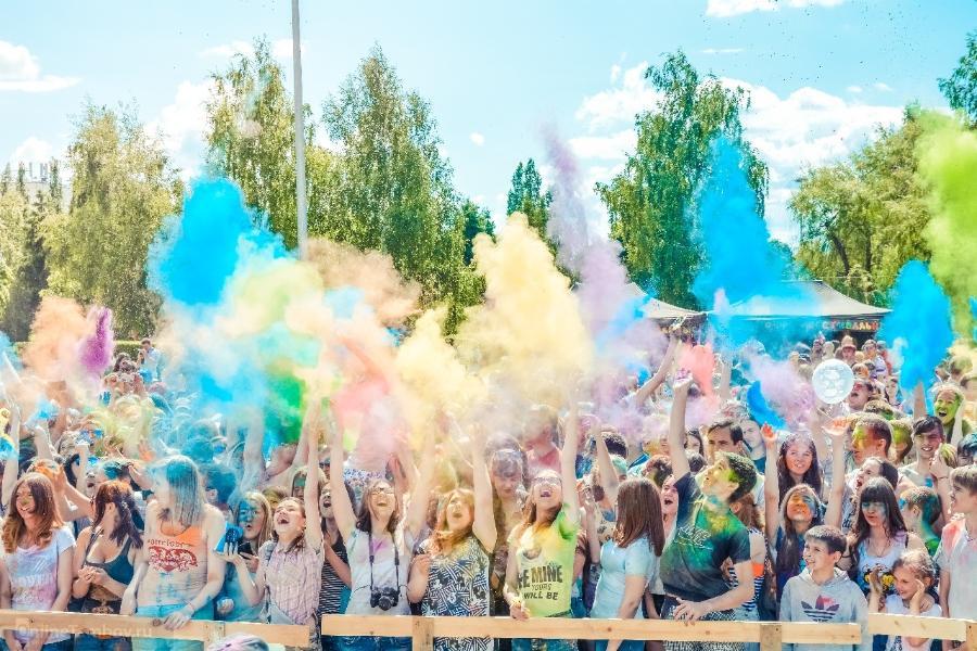 На День города в Тамбове устроят фестиваль красок