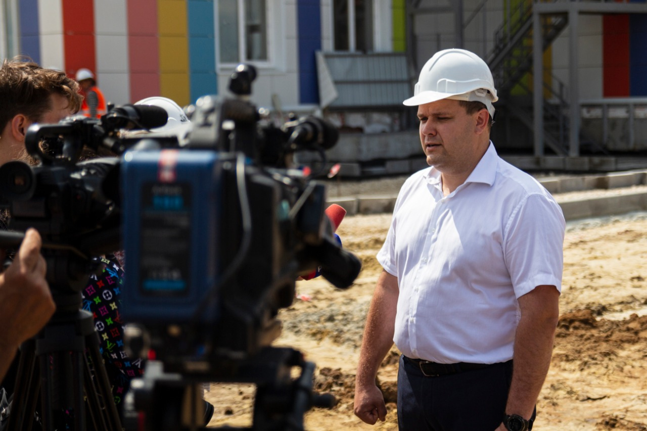 На севере Тамбова начали строительство школы на 2425 мест