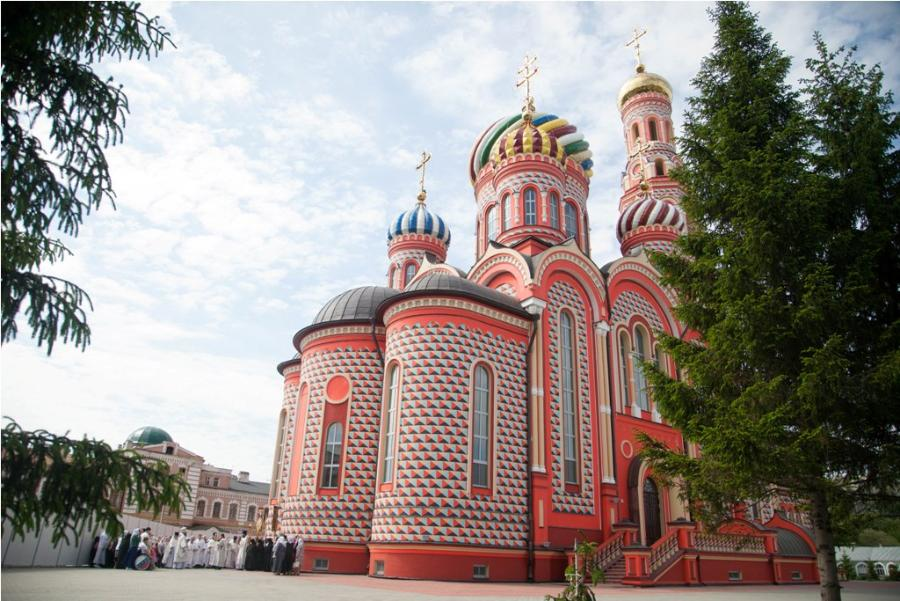 Православные тамбовчане отмечают Вознесение Господне